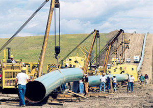 Denmark water pipeline project