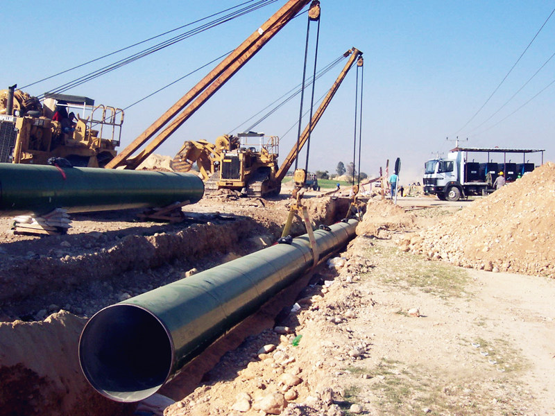 South Africa Pipeline for water systems