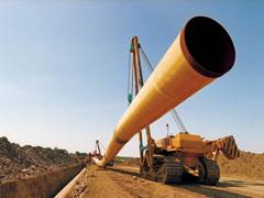 Proyecto de tubería de petróleo de Arabia Saudita