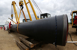 Spain Natural Gas Pipeline Project